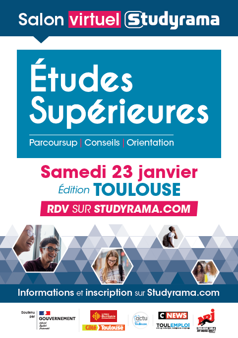 Studyrama Toulouse - 23 janvier 2021